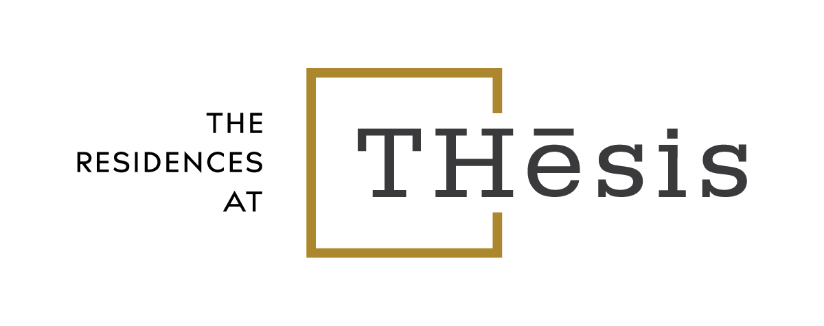 The Residences at THesis Logo